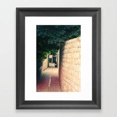 Croatian Alley Framed Art Print