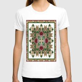 Kaleidoscope No. 30 Emeralds, Rubies and Diamonds T-shirt