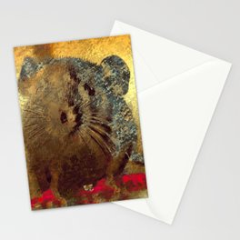 Cute Baby Rat Stationery Cards