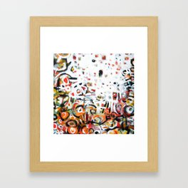 The Places We Go Framed Art Print