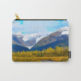 Autumn in Portage Valley - Alaska Carry-All Pouch