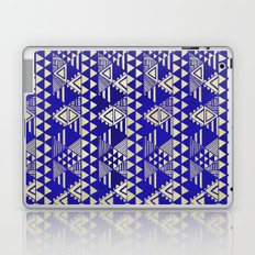 Ethnic Indigo Laptop & iPad Skin