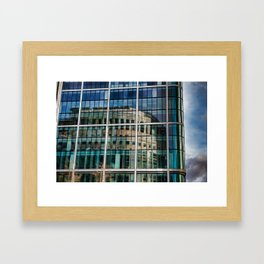 London Photography Canary Wharf Reuters Framed Art Print