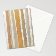 Golden Winter Forest 2 Stationery Cards