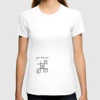 xoxo T-shirts featuring XOXO by Svetlana Sewell