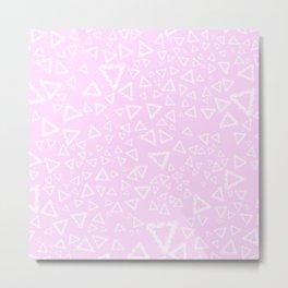Ballet of Triangles Metal Print