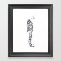 Man Of Things Framed Art Print
