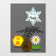 Winter is Coming... 2 Canvas Print