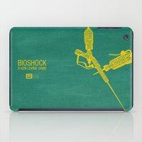 bioshock iPad Cases featuring Bioshock Typography by Kody Christian