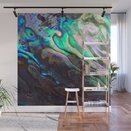 Pearlescent Abalone Shell Wall Mural