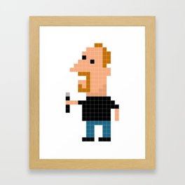 Louis C. K. Iotacon Framed Art Print
