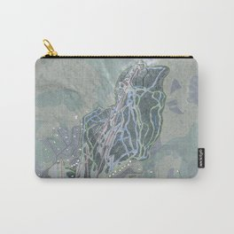 Black Mountain Resort Trail Map Carry-All Pouch