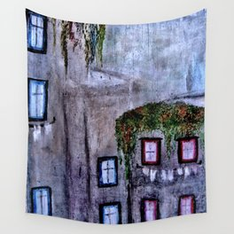 Houses in Milan in the evening Italy Wall Tapestry