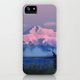 Mt McKinley / Alaska Art / Digital iPhone Case