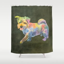 Norfolk Terrier Shower Curtain