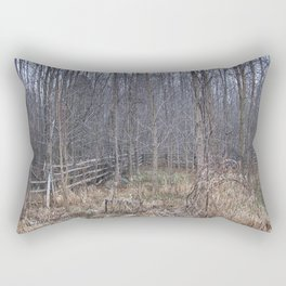 Fenced-in and Neglected Rectangular Pillow