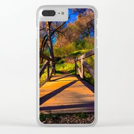 traverse into nature Clear iPhone Case