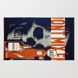 Vintage poster - Don't Drink and Drive Rug