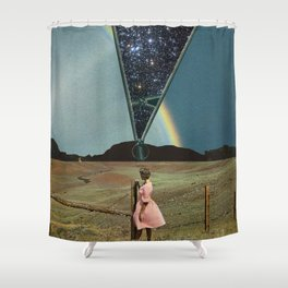 The invisible beauty Shower Curtain