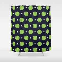 Lime a Lot Shower Curtain
