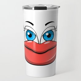 Puffy Lips Travel Mug