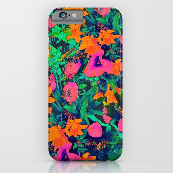 CRAZY FLOWERS iPhone & iPod Case