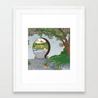 mulan Framed Art Prints featuring Mulan by Lesley Vamos