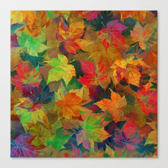 Colors of Autumn Canvas Print