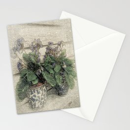 'Violets are Blue' Stationery Cards