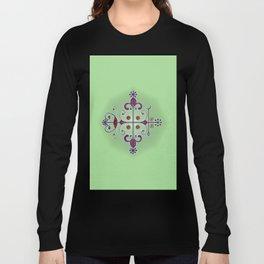 Voodoo Symbol Papa Legba Long Sleeve T-shirt