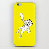 super hero iPhone & iPod Skins featuring Super Hero by PaytonMeyer