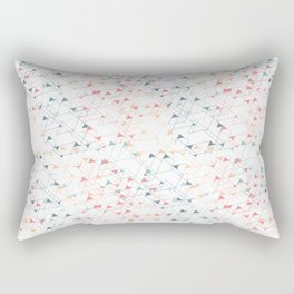 Inspired by Pollock Rectangular Pillow