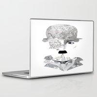 chaplin Laptop & iPad Skins featuring C. Chaplin by Ina Spasova puzzle