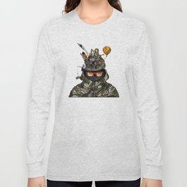 Snazzy Cap. Long Sleeve T-shirt