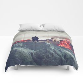 Everything Led me Here Comforters