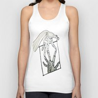 mirror Tank Tops featuring Mirror by LewisLeathers