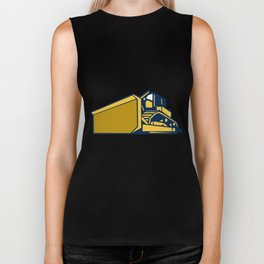 Bulldozer Low Angle Retro Biker Tank