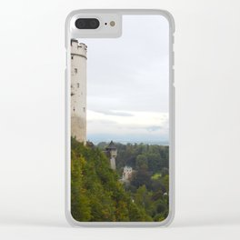 A view from Festung Hohensalzburg II Clear iPhone Case