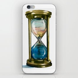 Passing Time iPhone Skin