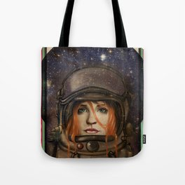 Give me Space (Girl) Tote Bag