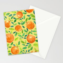 Citrus Yellow Stationery Cards