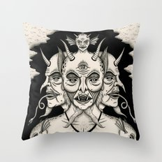 Weeping Demon Throw Pillow