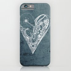 Ornament zentangled heart iPhone 6s Slim Case