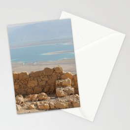 ABOVE THE DEAD SEA Stationery Cards
