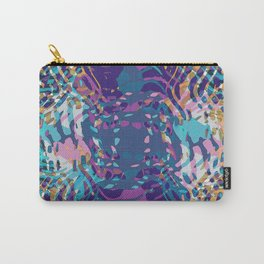 Uptown Multi Colored Abstract Carry-All Pouch