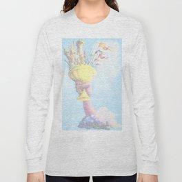 Monty Python & The Holy Grail. The Script Print! Long Sleeve T-shirt