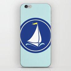 Sailboat Print  iPhone & iPod Skin
