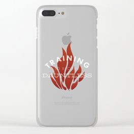 Training: Dauntless Clear iPhone Case