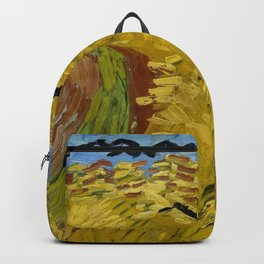 """Vincent van Gogh """"Wheat Field with Crows"""" Backpack"""