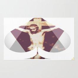 Son Of God Spade and Diamond Rug